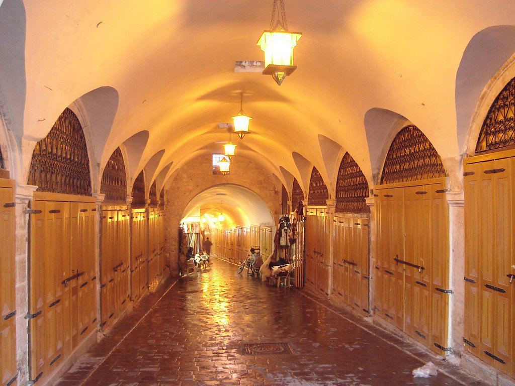 the medieval souk of aleppo  u2013 university of copenhagen